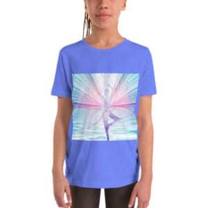 Youth Short Sleeve  Fairy T-Shirt Yoga