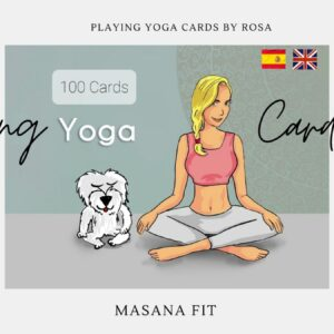 Yoga Training Cards Game.100 Cards. EXCLUSIVE Edition